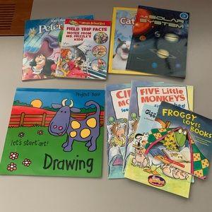 Lot of 9 Paperback kids books